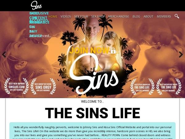 Sins Life 3 Day Trial