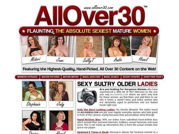 Allover30.com Site Discount
