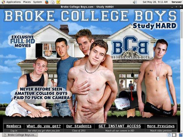 Brokecollegeboys.com Free Login Password