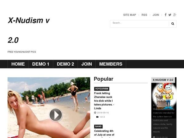 X-nudism.com Anal