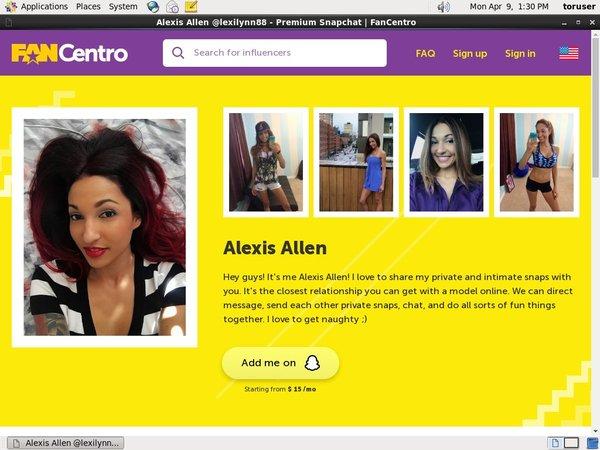 Alexis Allen Site-rip